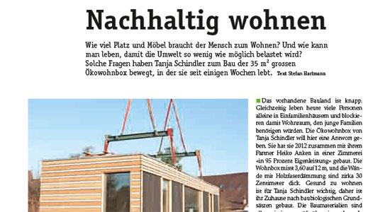 Bericht im Haustech Magazin 07/2013