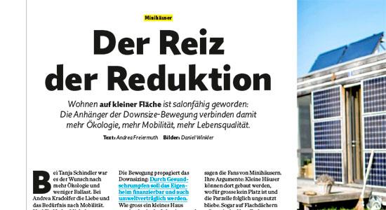 Bericht im Migros-Magazin vom 23. Mai 2016