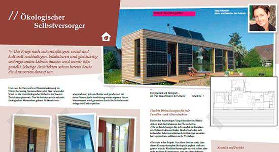 Bericht im Magazin Pro Clima 2014
